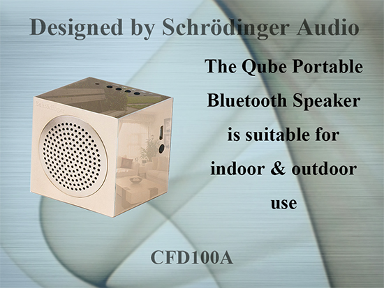 Metal housing Bluetooth Speaker