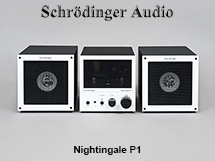 Nightingale P1 Compact Vacuum Tube Audio Amplifier and Speaker System