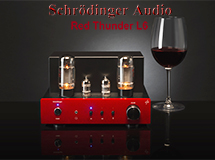 Compact Vacuum Tube Audio Amplifier with Bluetooth Connection